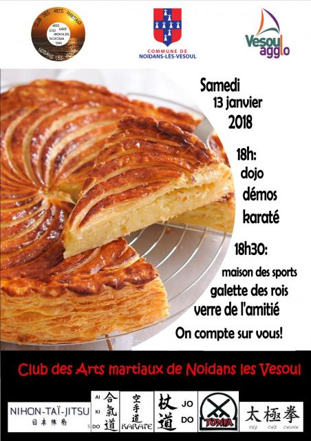 Affichette galette 2018
