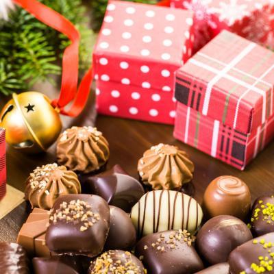 Chocolats de noel a offrir cadeau