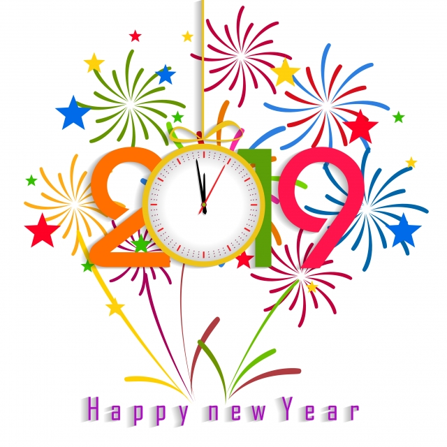 Happy new year for 2019 png 119511