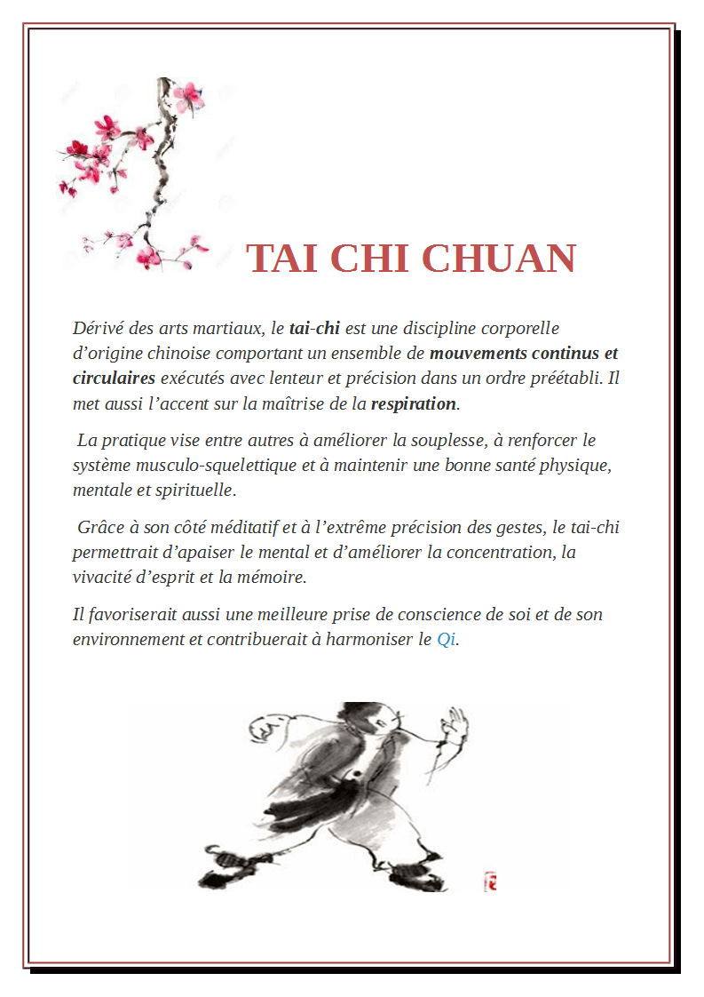 Tai chi chuan 2